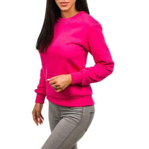Bluza damska fuksja Denley W01, kolor różowy