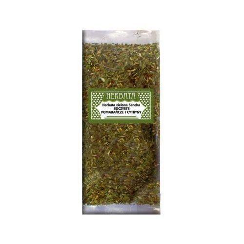 PERFECT COMPOSITION 50g Zielona herbata Sencha z Pomarańczą