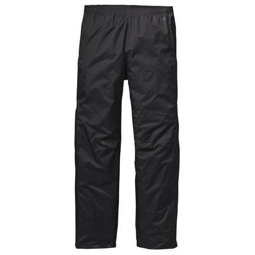 torrentshell spodnie długie mężczyźni czarny l 2018 spodnie przeciwdeszczowe marki Patagonia