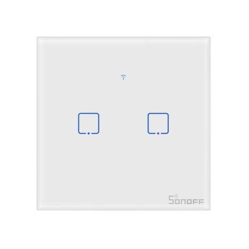 Sonoff im190314010 włącznik światła dwukanałowy t0- natychmiastowa wysyłka, ponad 4000 punktów odbioru! (6920075725513)