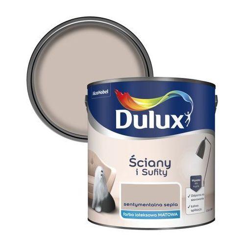 Dulux Farba ściany i sufity sentymentalna sepia 2,5 l (5904078208632)