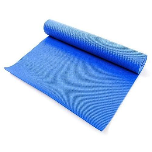 Mata do ćwiczeń fitness METEOR - niebieska 180x60x0,5cm - Niebieski