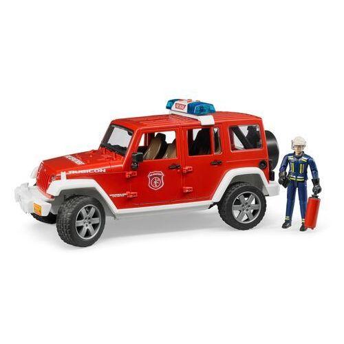 Bruder Jeep wrangler straż pożarna z figurką 02528 (4001702025281)