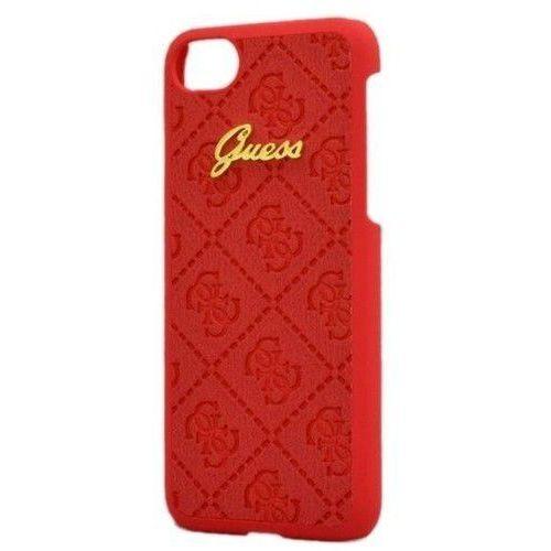 Guess do iPhone 7 Czerwone (BRA004625) Darmowy odbiór w 20 miastach!, kolor Guess
