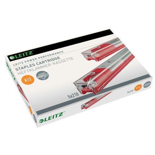 Leitz Kasetki ze zszywkami power performance k12 5x210szt.