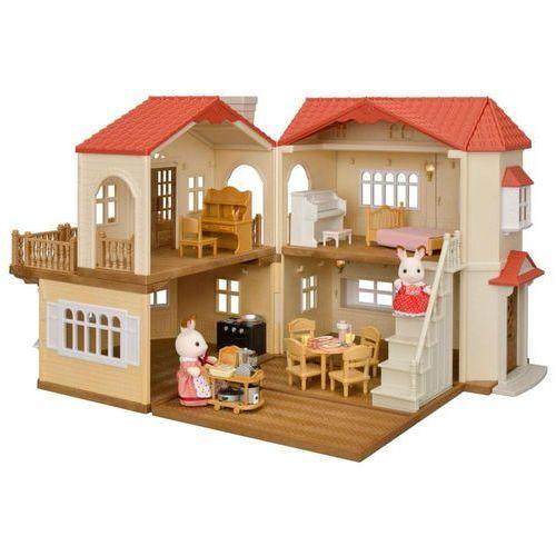 Sylvanian Families zestaw podarunkowy - Dom piętrowy z czerwonym dachem A (5054131053836)
