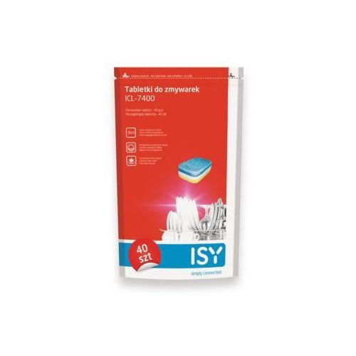 Tabletki do zmywarek icl-7400 40 szt. marki Isy