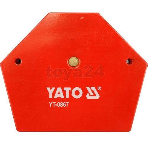kątownik spawalniczy magnetyczny 111x136x24mm 0867 marki Yato