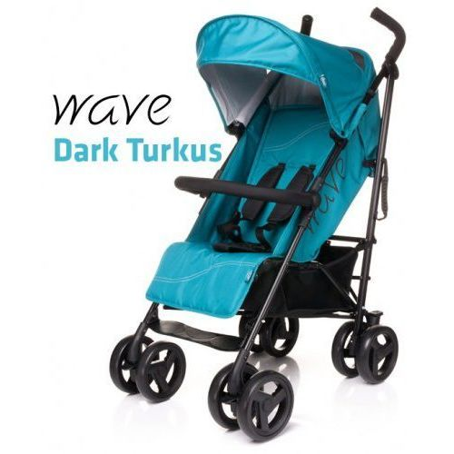 Wózek spacerowy 4baby Wave Dark Turkus