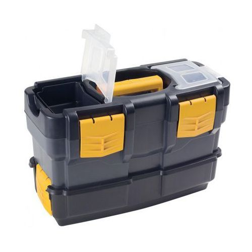 Artplast Plastikowe walizki na narzędzia z dodatkowym pojemnikiem (8010693048700)