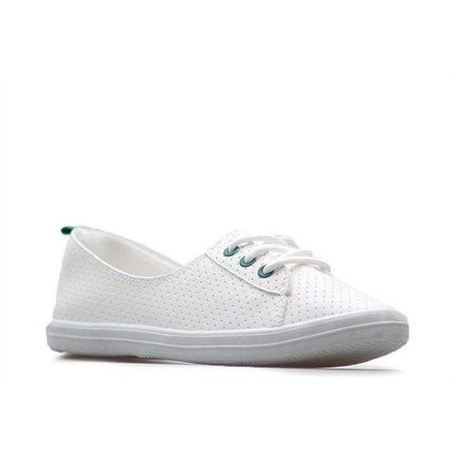 Półbuty l1832401 białe/zielone, Kylie