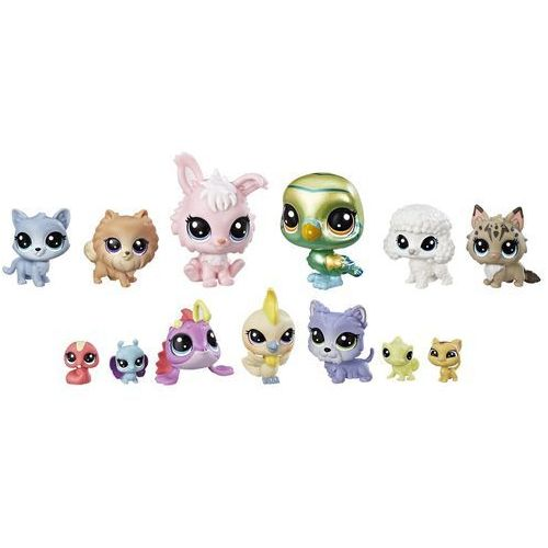 Littlest Pet Shop duży zestaw zwierzątek – Diva Squad