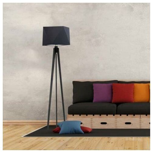 Nowoczesna lampa podłogowa do sypialni BOMBAJ