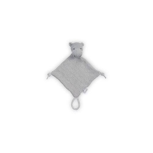 Przytulaczek Doudou Soft Knit Jollein (jasny szary), 041-001-65130