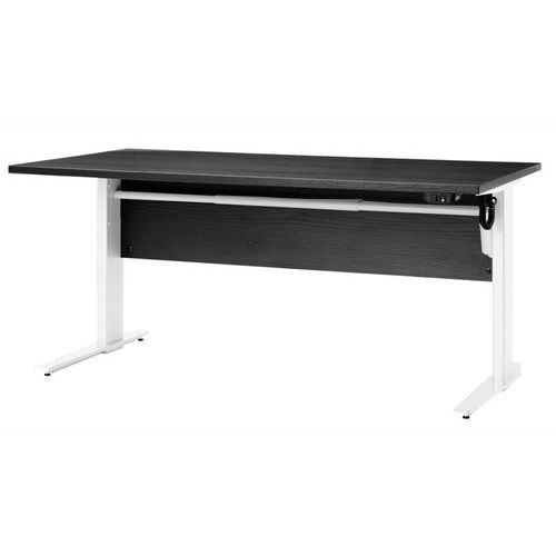 Tvilum Prima biurko z el. regulowanymi nogami 150 cm - czarny \ szary