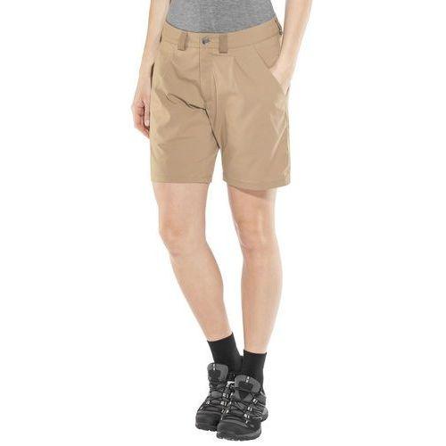 Haglöfs Mid Solid Spodnie krótkie Kobiety beżowy 42 2018 Szorty syntetyczne, kolor beżowy