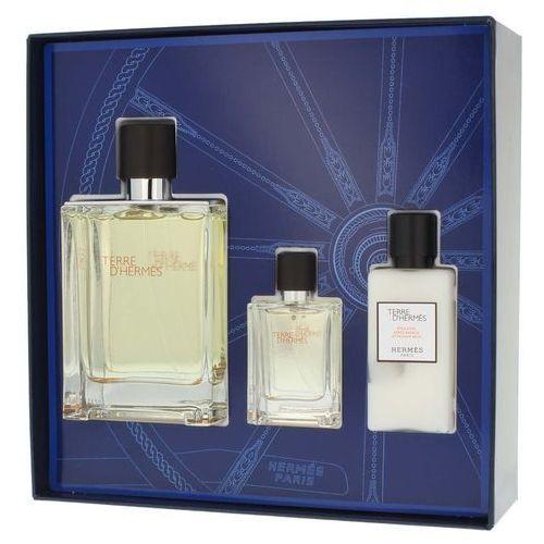 Hermes  terre d hermes zestaw - woda toaletowa 100 ml spray + balsam po goleniu 40 ml + woda toaletowa 12,5 ml spray (3346131405343)