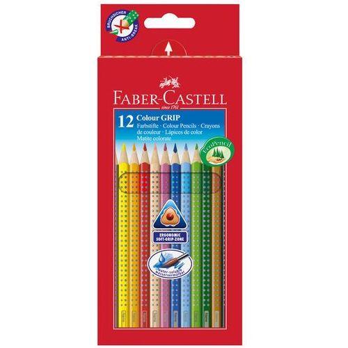 Faber-castell Kredki ołówkowe trójkątne 12 kolorów