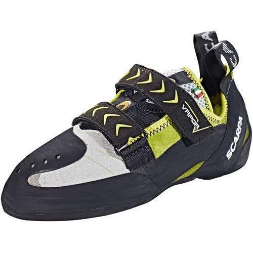 Scarpa Vapor V But wspinaczkowy zielony/czarny 40 2018 Buty wspinaczkowe na rzepy