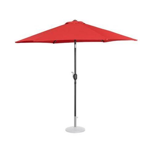 parasol ogrodowy - Ø270 cm - czerwony uni_umbrella_r270re - 3 lata gwarancji marki Uniprodo