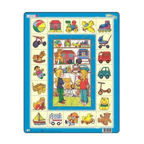 Puzzle maxi - přiřaď k sobě - hračky/35 dílků marki Neuveden