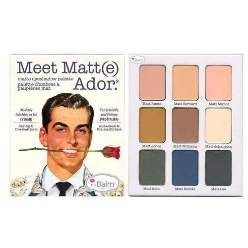 meet matt(e) adore | paleta cieni do powiek 25,5g marki Thebalm. Najniższe ceny, najlepsze promocje w sklepach, opinie.