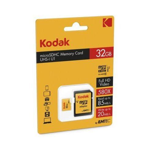 Kodak Karta pamięci microsdhc 32 gb class 10 uhs-1 u1 (3126170143570)