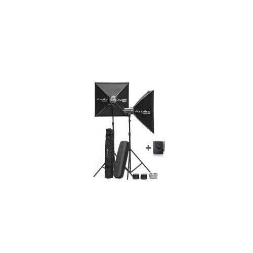 Zestaw lamp błyskowych d-lite 2/2 rx softboxy promocja! marki Elinchrom
