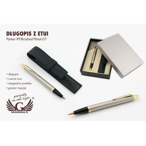 Długopis PARKER IM brushed metal GT z etui - PAR070-PT7