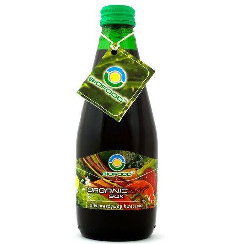 Bio food Sok wielowarzywny kwaszony bio 6x300ml