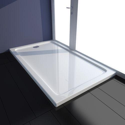 brodzik prysznicowy prostokątny abs biały 70 x 120 cm marki Vidaxl