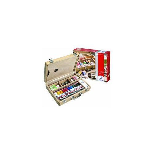 Talens Van Gogh Basic Farby akrylowe Box drewno