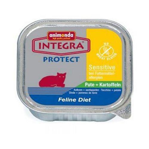 Animonda INTEGRA Protect Cat Sensitive KOTY WRAŻLIWE szalka 100g (karma dla kotów)