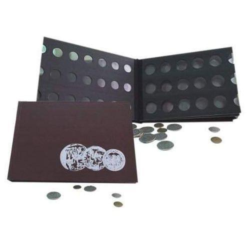 Album numizmatyczny B5 250x176 mm 4 kartki z klapką 1829-112-012