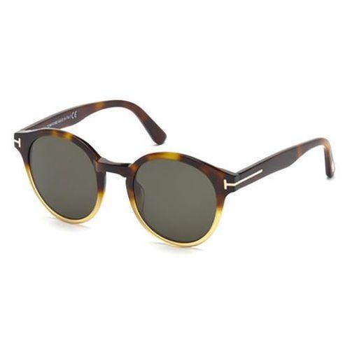 Okulary Słoneczne Tom Ford FT0400 LUCHO 58N, kolor żółty