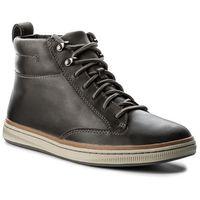 Clarks Trzewiki - norsen mid 261278327 dark grey leather