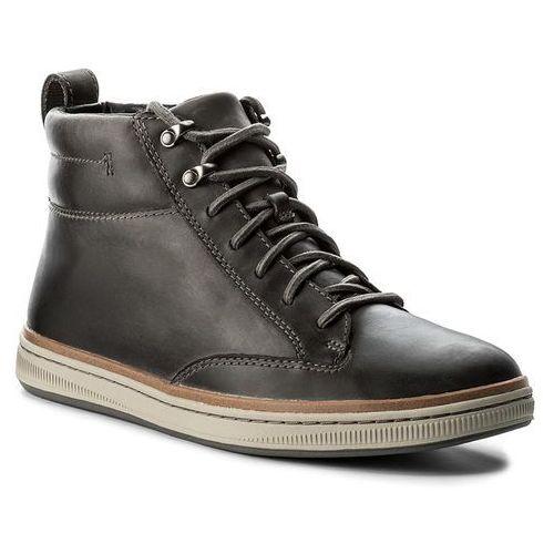 Trzewiki - norsen mid 261278327 dark grey leather, Clarks, 41-47