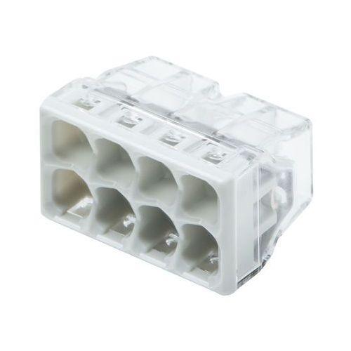 Złączka Wago mini 8 x 0,5-2,5 mm2 10 szt. (3662366024044)