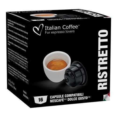 Ristretto Italian Coffee kapsułki do Dolce Gusto – 16 kapsułek
