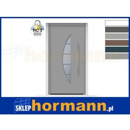 Hormann Drzwi aluminiowe thermosafe 2018, wzór 505, kolor do wyboru, przeciwwłamaniowe rc 3