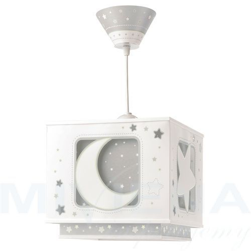 63232e -lampa wisząca dziecięca moon light 1xe27/60w/230v marki Dalber. Najniższe ceny, najlepsze promocje w sklepach, opinie.