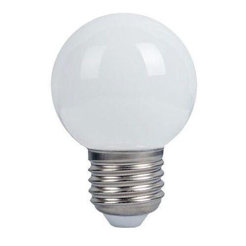 Żarówka lightech 3w led e27 kulka ciepła od producenta Inni producenci