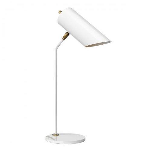 Quinto White Table Lamp Biurkowa Elstead QUINTO/TL WAB 57cm biały