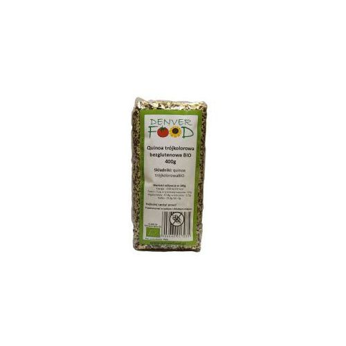 Quinoa trójkolorowa bezglutenowa (komosa ryżowa) bio 400 g  marki Denver food