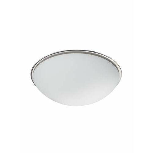 Trio 6107 lampa sufitowa nikiel matowy, 1-punktowy - nowoczesny/dworek - obszar wewnętrzny - bulto - czas dostawy: od 3-6 dni roboczych (4017807028041)