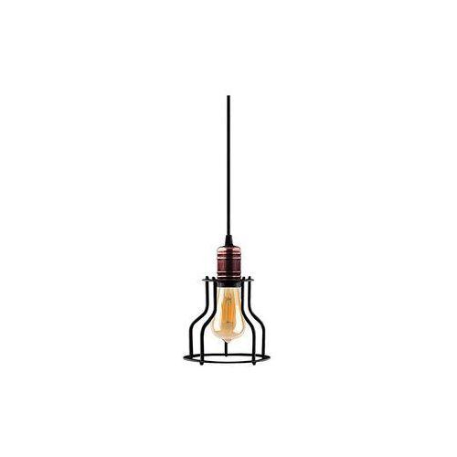 Zwis do szyn Nowodvorski Profile Workshop 9427 lampa wisząca loft 1x60W E27 czarna, kolor Czarny,