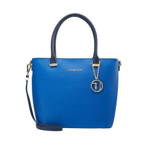 Trussardi Jeans LEVANTO ECOSAFFIANO Torebka bluette blue (8057735369751)