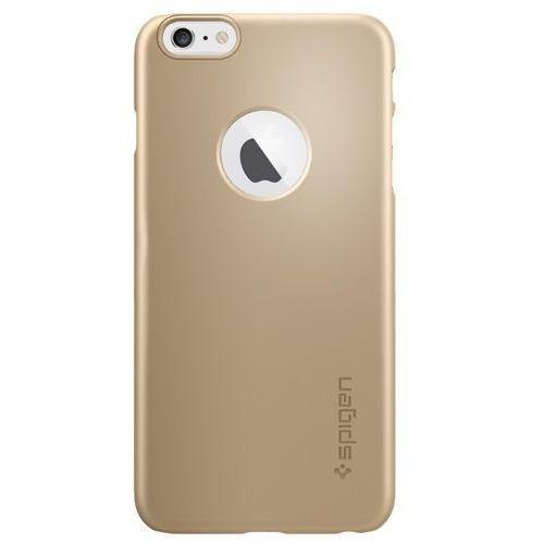 "Sgp - spigen Oryginalne etui obudowa spigen sgp thin fit a champagne gold dla iphone 6 plus 5.5"" (8809404212079)"
