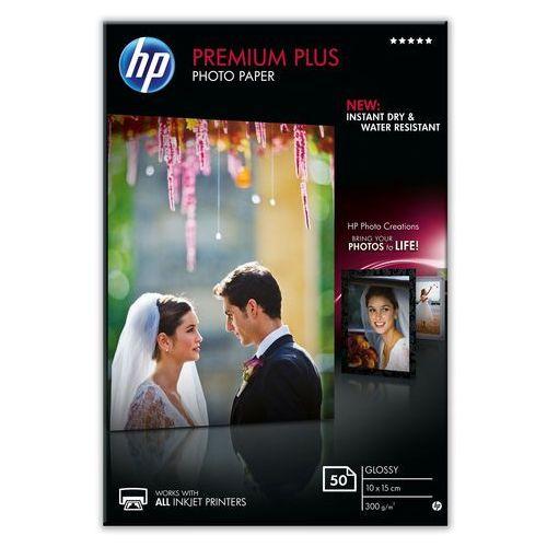HP Papier fotograficzny Premium Plus, błyszczący – 50 arkuszy/10 x 15 cm (0886111408757)