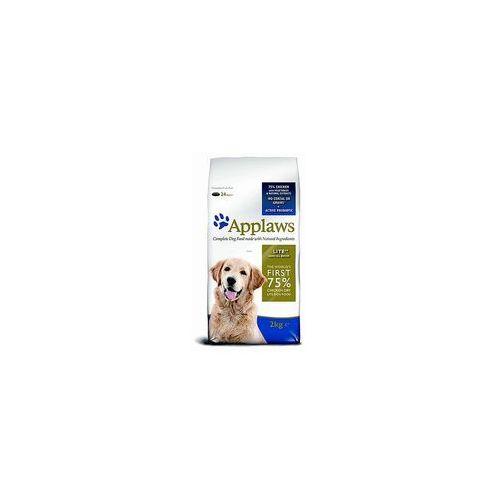 Applaws 1 + 1 kg gratis! karma dla psa, 2 kg - all breed adult lite, kurczak (5060122494069)